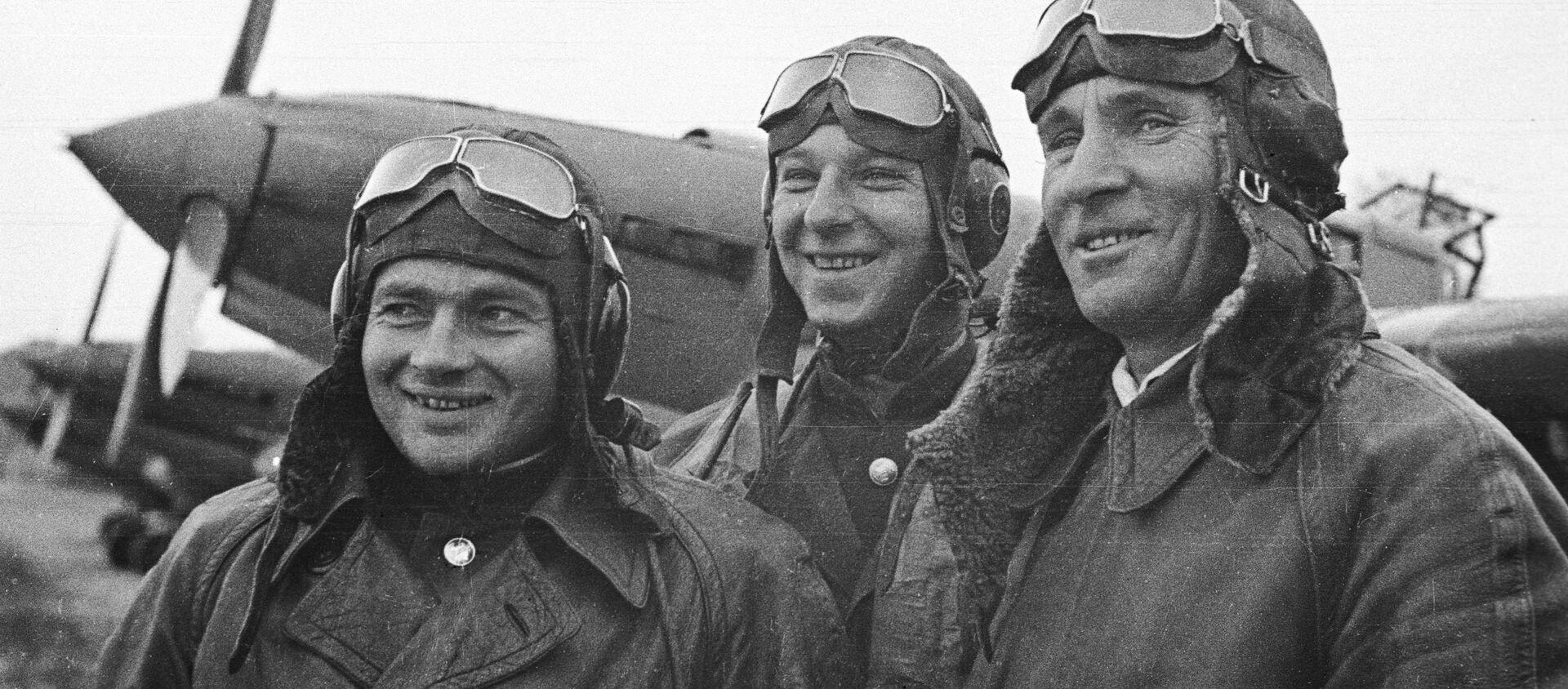 Aviadores soviéticos que participaron en la liberación de Corea - Sputnik Mundo, 1920, 25.12.2019