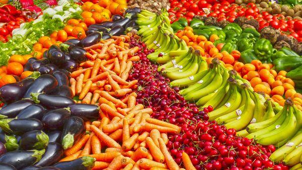Frutas y hortalizas (imagen referencial) - Sputnik Mundo