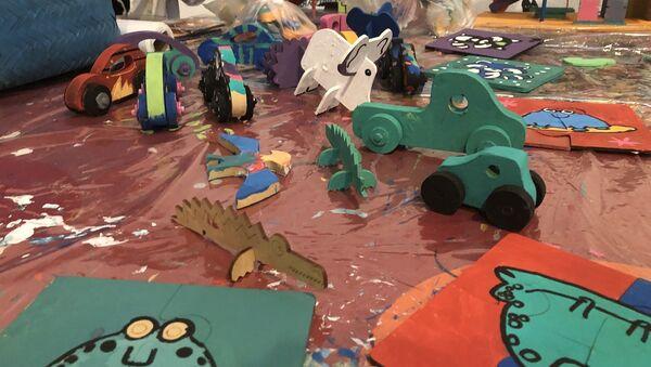 Juguetes para regalar a los niños que menos tienen en Argentina - Sputnik Mundo