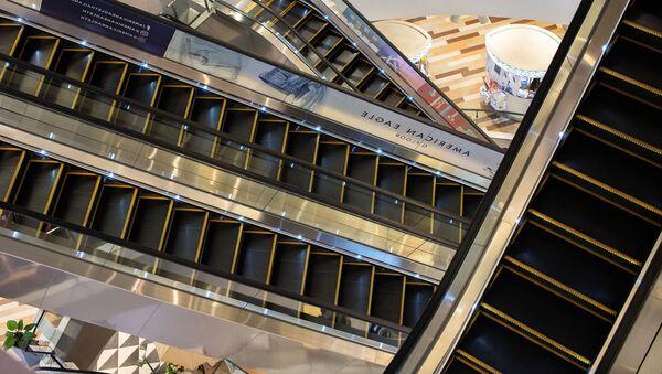 Escaleras eléctricas (imagen referencial) - Sputnik Mundo