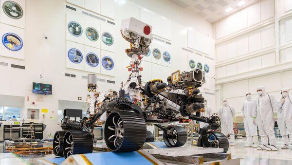 El róver Mars 2020  - Sputnik Mundo