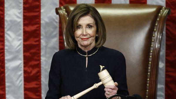 Nancy Pelosi, presidenta de la Cámara de Representantes de EEUU - Sputnik Mundo
