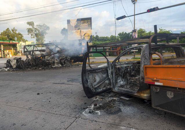 Consecuencias de los enfrentamientos en la ciudad de Culiacán (México), entre las fuerzas del orden y los sicarios de los carteles, el 18 de octubre de 2019