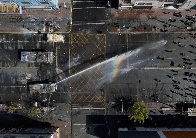 Protestas antigubernamentales en Chile