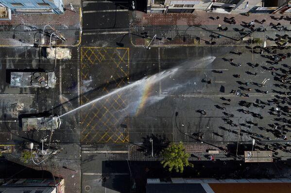 Protestas antigubernamentales en Chile, el 26 de octubre de 2019 - Sputnik Mundo