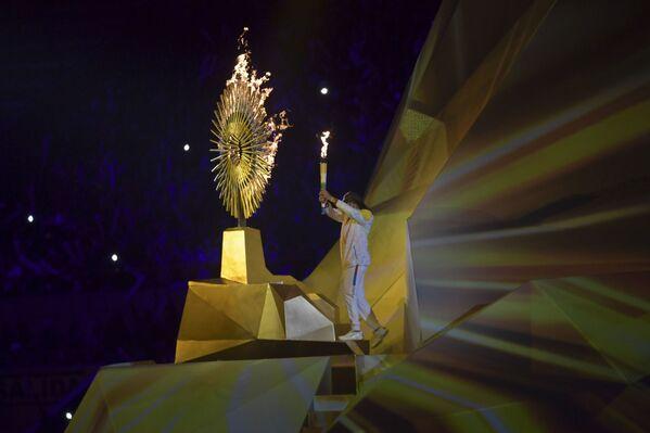 Inauguración de los XVIII Juegos Panamericanos en Lima (Perú), el 26 de julio de 2019  - Sputnik Mundo