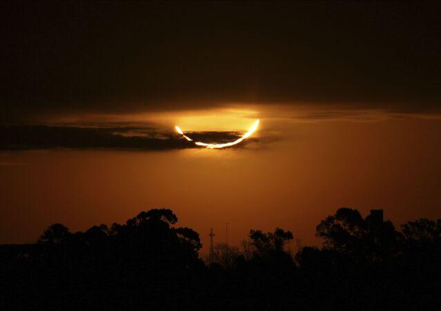 Eclipse solar sobre Argentina, el 2 de julio de 2019