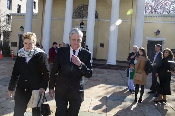 El fiscal especial de EEUU, Robert Mueller, presenta su informe sobre la llamada 'trama rusa', el 24 de marzo de 2019 - Sputnik Mundo