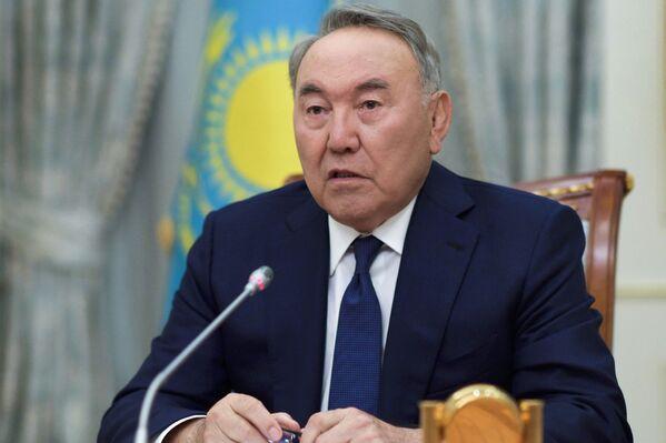 Nursultán Nazarbáyev, presidente de Kazajistán, anuncia su dimisión, el 19 de marzo de 2019 - Sputnik Mundo