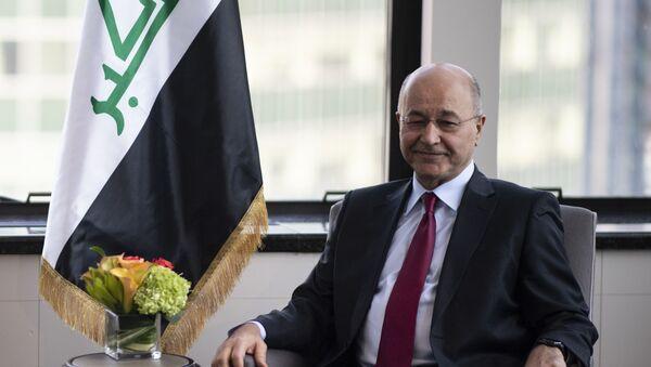 Barham Saleh, el presidente de Irak - Sputnik Mundo