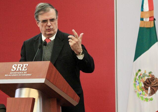 Marcelo Ebrard, el canciller mexicano