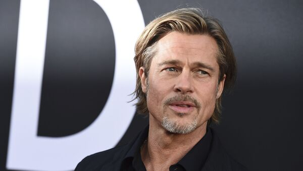 El actor estadounidense Brad Pitt - Sputnik Mundo
