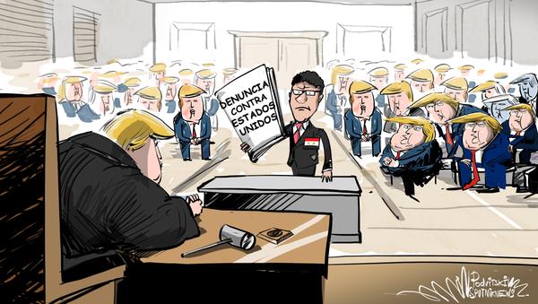 Siria demandará a EEUU por saqueo del petróleo… pero ¿quiénes serán los jueces? - Sputnik Mundo