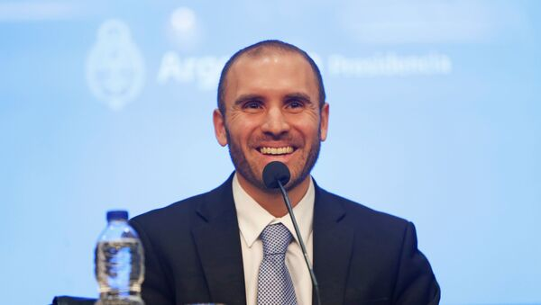 Martín Guzmán, ministro de Economía argentino - Sputnik Mundo