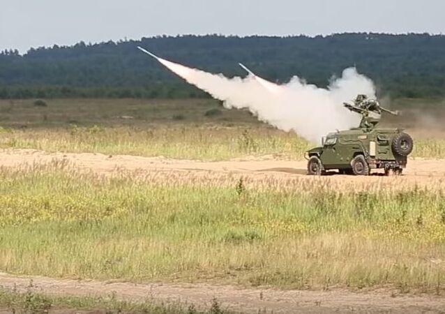 Sistema de defensa antiaérea Gibka-S