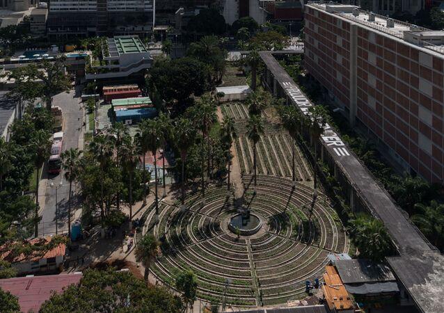 El huerto organoponico está ubicado en el corazón de Caracas