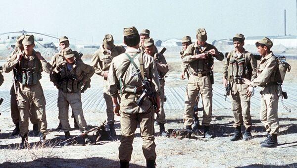 Unidad especial soviética en Afganistán (imagen referencial) - Sputnik Mundo
