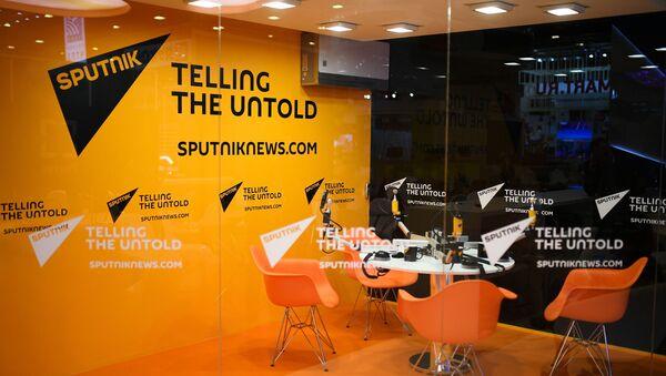 Un estudio de grabación de Sputnik (imagen referencial) - Sputnik Mundo