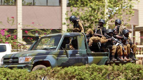 Fuerzas de seguridad de Burkina Faso - Sputnik Mundo