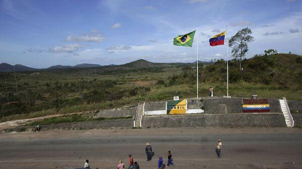 La frontera entre Venezuela y Brasil - Sputnik Mundo