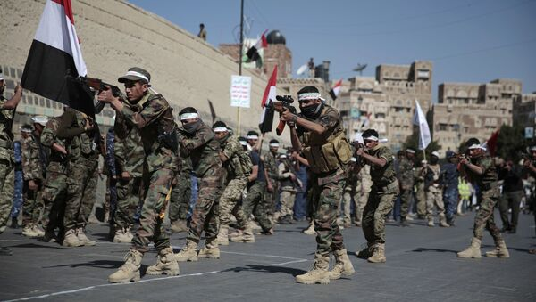 Un desfile militar en Yemen (archivo) - Sputnik Mundo
