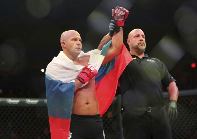 Fiódor Yemeliánenko, luchador ruso de artes marciales mixtas (archivo)
