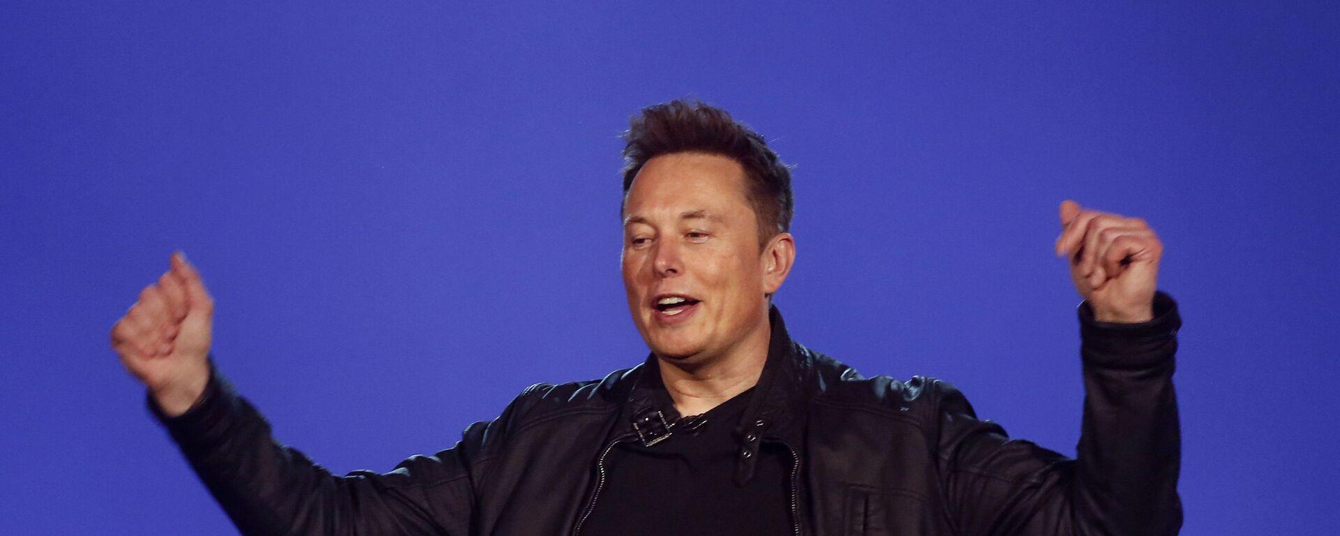 Elon Musk, inventor y emprendedor estadounidense - Sputnik Mundo, 1920, 04.06.2021
