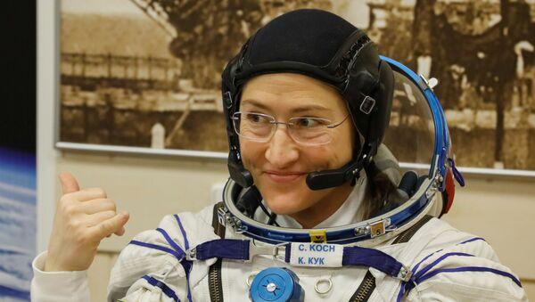 Christina Koch, la astronauta estadounidense - Sputnik Mundo