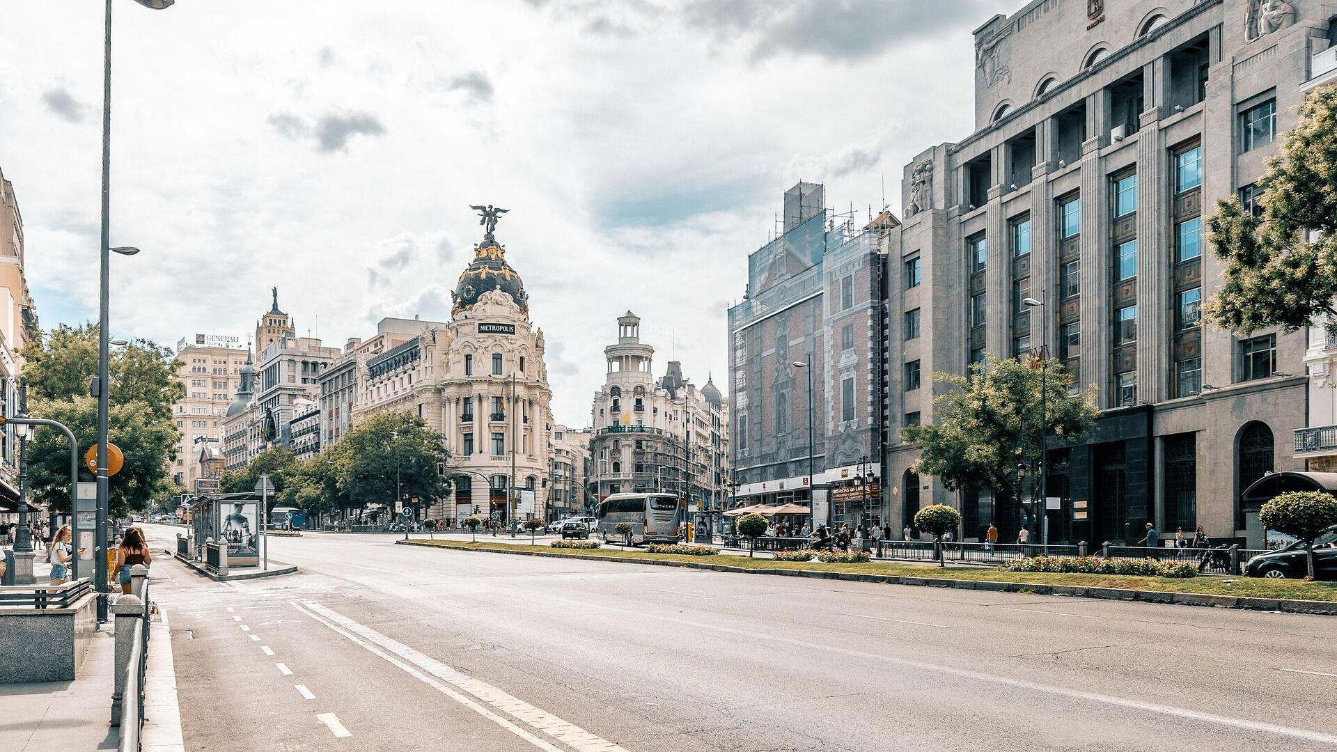 Ciudad de Madrid - Sputnik Mundo, 1920, 14.04.2021