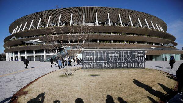 El nuevo Estadio Nacional en Tokio - Sputnik Mundo