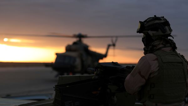 Un militar de EEUU en Irak - Sputnik Mundo