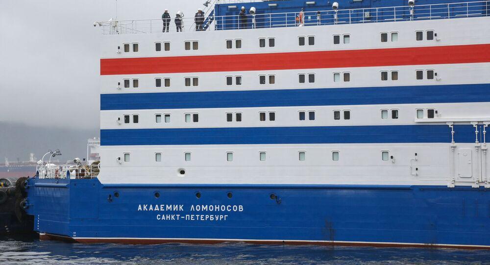 Akademik Lomonosov, el reactor nuclear flotante ruso