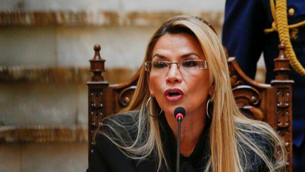 Jeanine Áñez, la presidenta de facto de Bolivia - Sputnik Mundo
