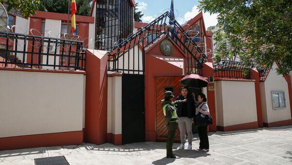 La Embajada de España en La Paz - Sputnik Mundo