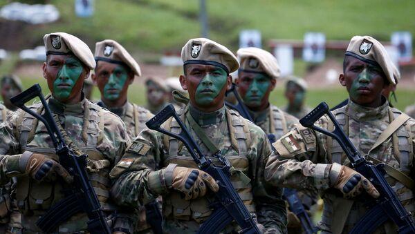 Militares bolivianos (archivo) - Sputnik Mundo