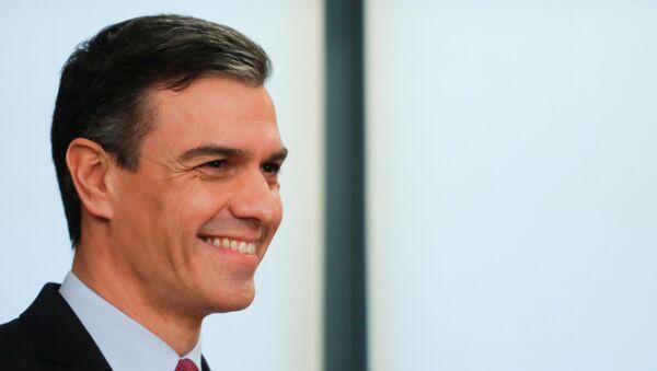 El líder del PSOE, Pedro Sánchez - Sputnik Mundo