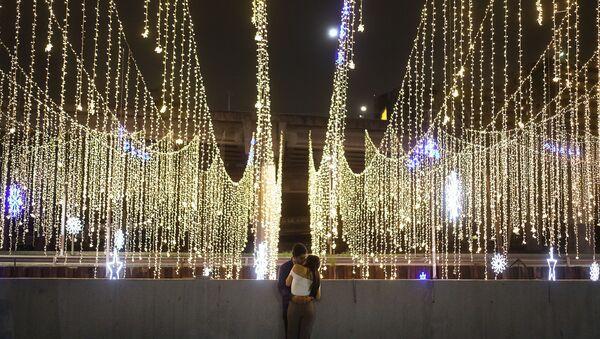 Iluminación navideña en Caracas - Sputnik Mundo