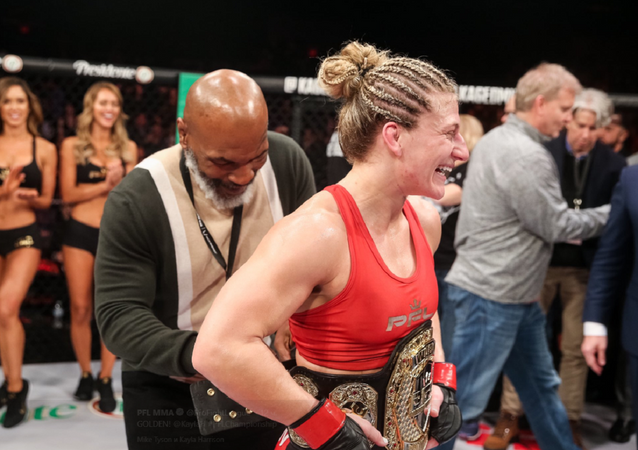 Kayla Harrison, luchadora estadounidense de la MMA