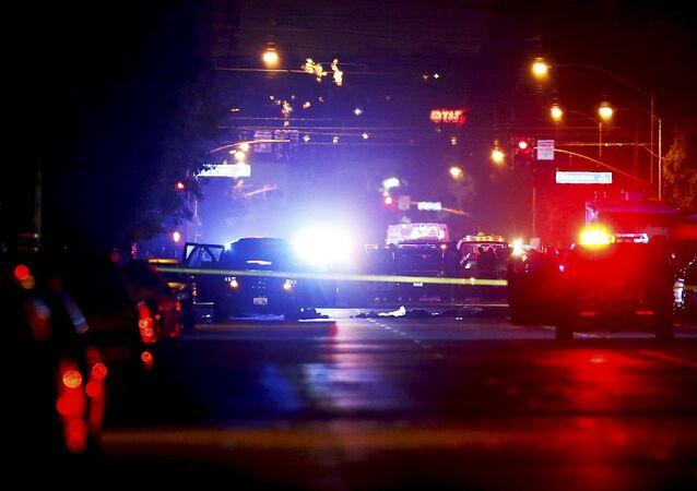 Lugar del tiroteo en EEUU (Archivo)