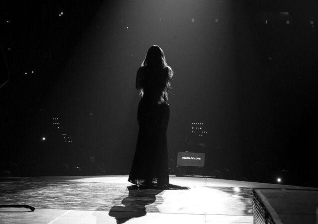 Mariah Carey, cantante estadounidense
