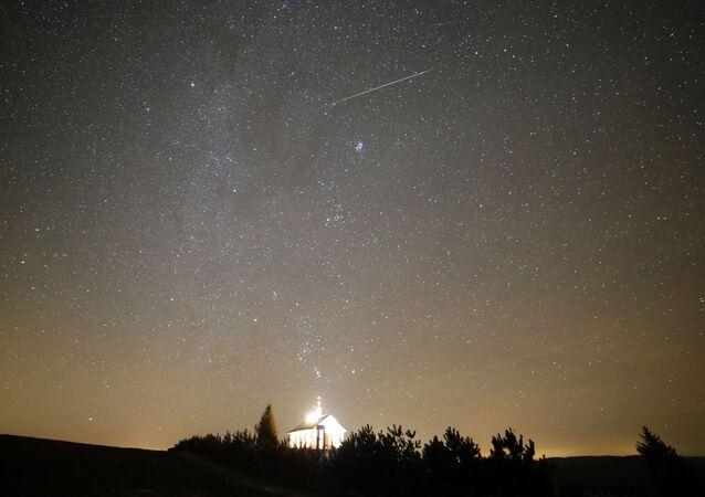 Una lluvia de meteoros en Bielorrusia