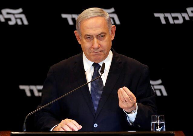 El primer ministro israelí en funciones, Benjamín Netanyahu
