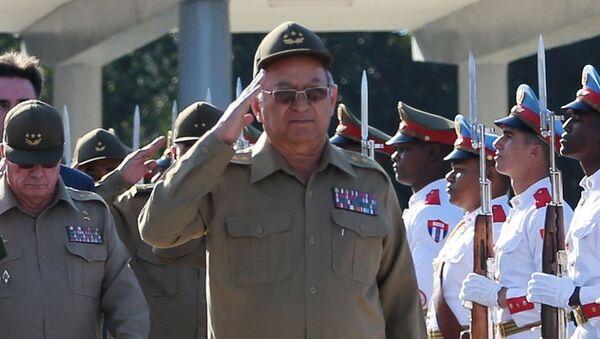 Leopoldo Cintra Frías, ministro de las Fuerzas Armadas Revolucionarias de Cuba - Sputnik Mundo