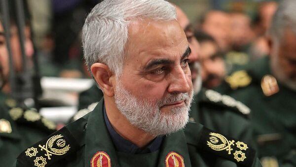 Qasem Soleimani, general iraní - Sputnik Mundo