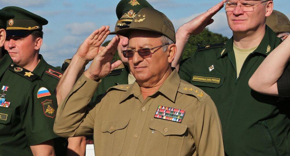 Leopoldo Cintra Frías, ministro de las Fuerzas Armadas de Cuba