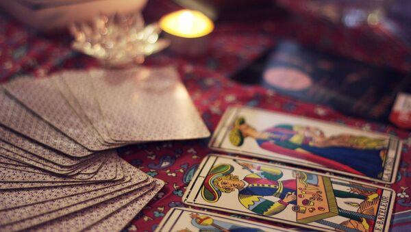 Cartas de tarot. Imagen referencial - Sputnik Mundo