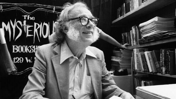 Isaac Asimov, escritor y científico estadounidense - Sputnik Mundo