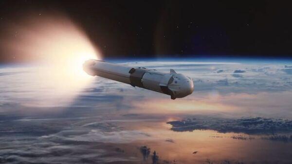 Simulación del viaje tripulado de Dragon de SpaceX  - Sputnik Mundo