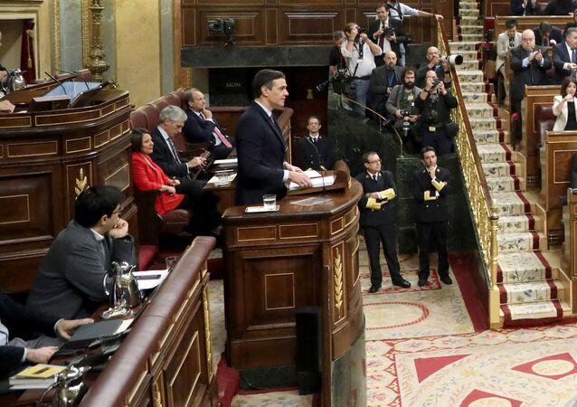 El debate de investidura de Pedro Sánchez