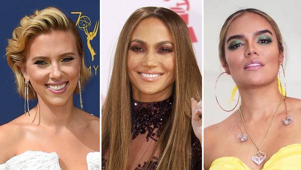 Scarlett Johansson, Jennifer Lopez y Karol G - Sputnik Mundo